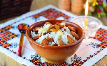 Очень вкусная рождественская кутья из риса (рецепт)