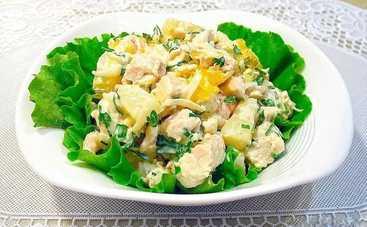 Вкусный салат с морковью, курицей и яйцами на каждый день (рецепт)