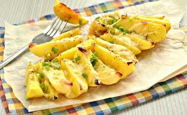 Неповторимый вкус! Картофельный салат с брынзой (рецепт)
