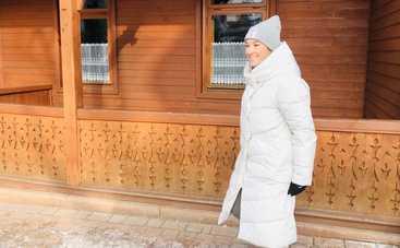 Известная украинская певица покоряет горные склоны