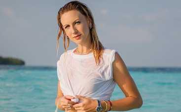 Леся Никитюк попала в «ДТП» во время отдыха на Мальдивах