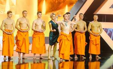 25 обнаженных «буддистов» примут участие в супер-шоу «Дивовижні люди»