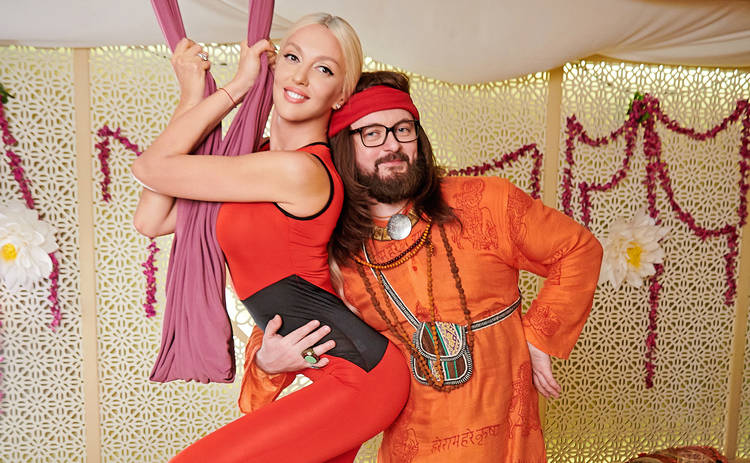 Свингеры-2: Оля Полякова займется с DZIDZIO сексом