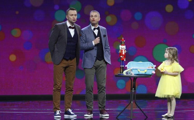 Круче всех-4: Андрей Доманский надел юбку и каблуки