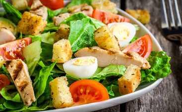 Витаминная бомба! Весенний салат с курицей (рецепт)