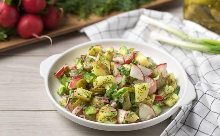 Постные блюда: возьмите на заметку салат «Деревенский» (рецепт)