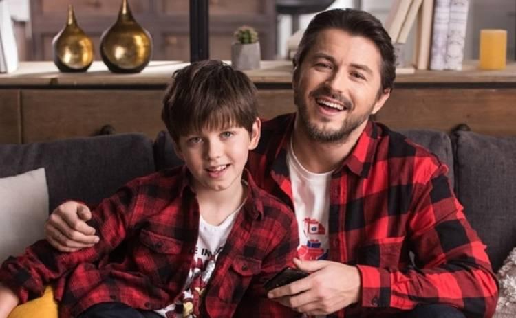 10-летний сын Сергея Притулы учит папу, как правильно общаться с детьми
