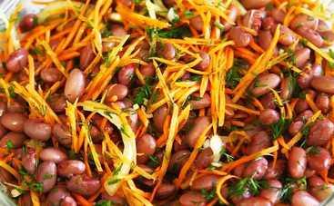 Великий пост 2019: шикарный салат с фасолью (рецепт)