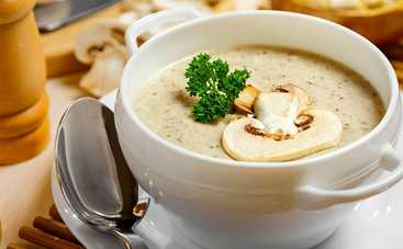 Великий пост 2019! Грибной суп из шампиньонов (рецепт)