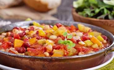 Великий пост-2019: шикарная фасоль с овощами (рецепт)