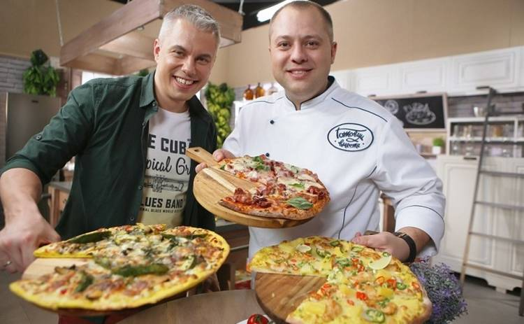 Готовим вместе: Домашняя пицца (эфир от 24.03.2019)