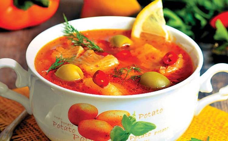 Пасха 2019: солянка рыбная «Праздничная» (рецепт)