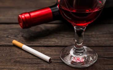 Эквивалент вреда для здоровья! Как измерить бутылку вина в сигаретах?