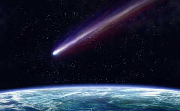 Ничего себе! В США на видео попал зеленый падающий метеорит