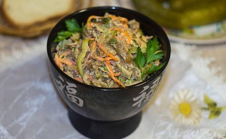 Пасха 2019: Салат с печенью и сыром «Аврора» (рецепт)