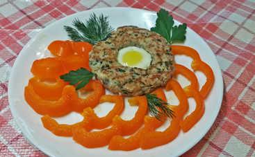Кулинарный шедевр! Пасхальные мясные колечки с яйцом (рецепт)