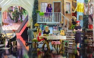 Создатели шоу «Дивовижні люди» построили одесский дворик в Киеве