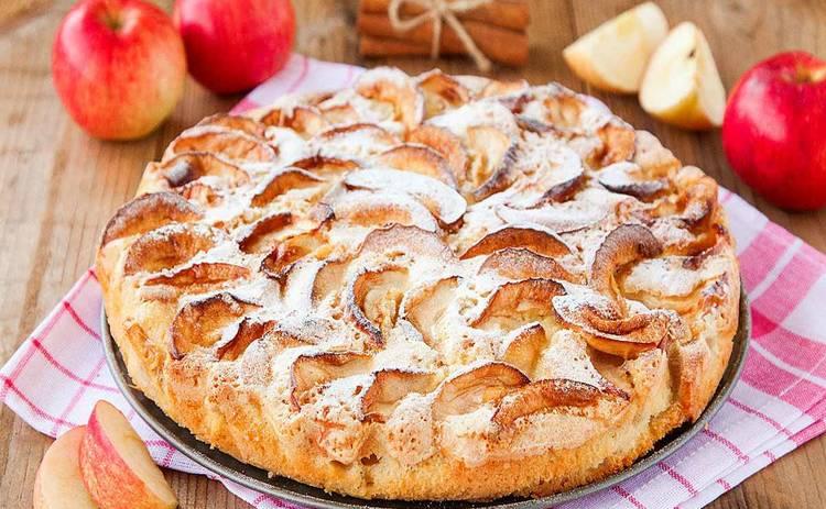 Пирог с яблоками «Нежность» - самый простой рецепт