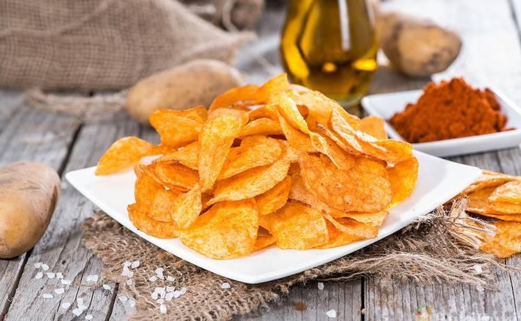 Картофельные чипсы в домашних условиях (рецепт)