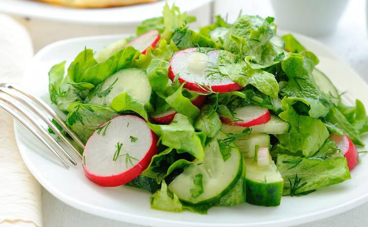 Вкусный салат из редиски для всей семьи (рецепт)