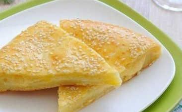 Сырные лепешки на скорую руку (рецепт)