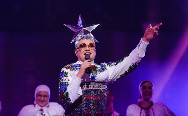«Евровидение-2019»: Верка Сердючка эффектно появилась на открытии конкурса в Тель-Авиве