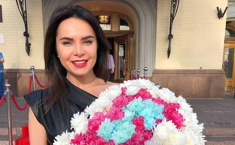 Беременная Лилия Подкопаева снялась в нежной фотосессии
