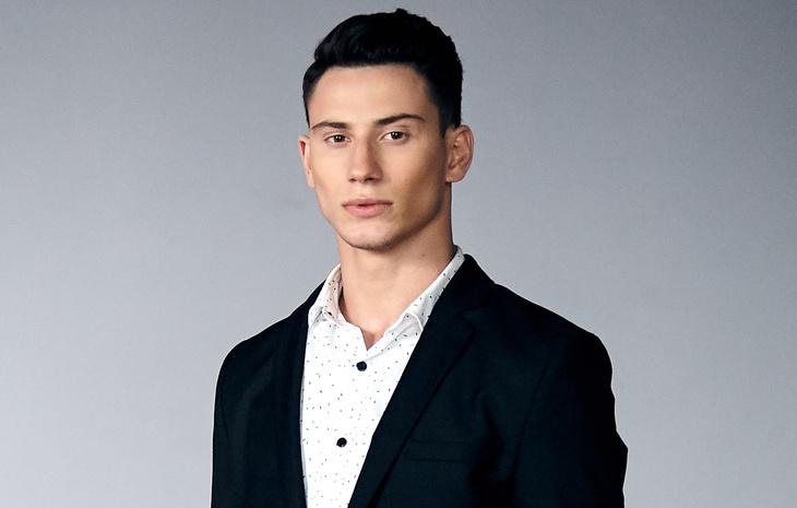 Победитель шоу «Топ-модель по-украински» Самвел Туманян