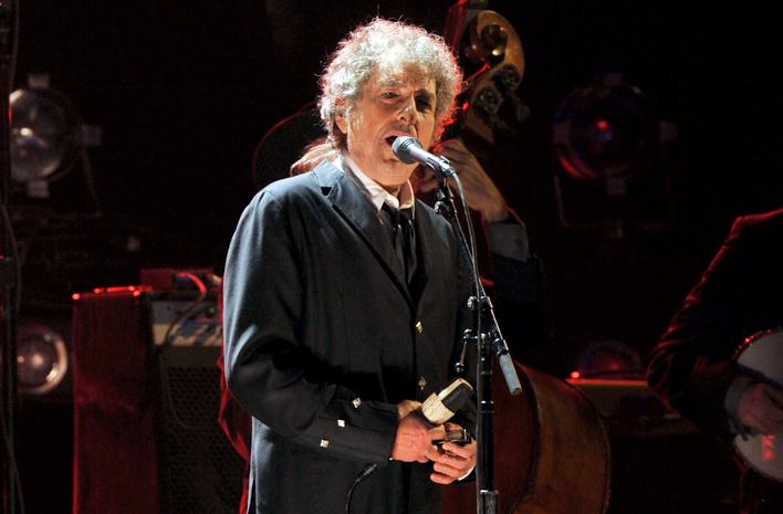 Боб Дилан записал песню для сборника, которые будут осуществляться нагей-свадьбах