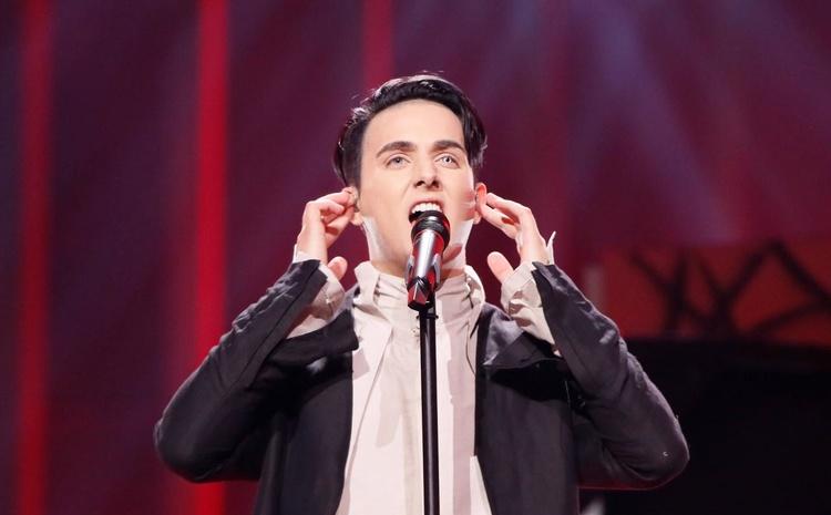 Украинский участник Евровидения-2018 напресс-конференции забыл родной язык иговорил по-русски