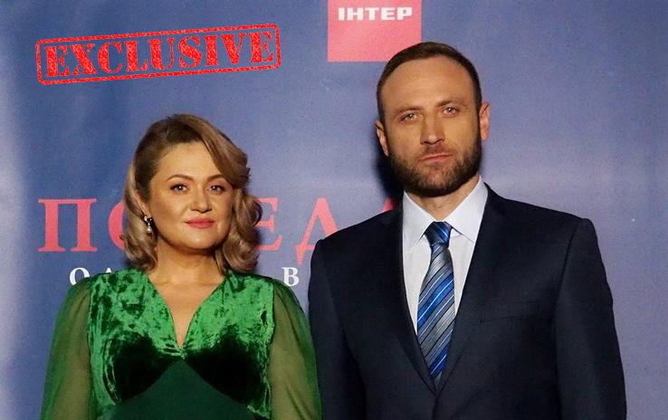 Наталия Бучинская и Сергей Гладыр