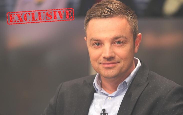 Телеведущий Роман Кадемин