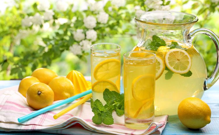 как приготовитьдомашний лимонад