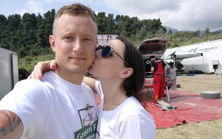 Наталья Гордиенко с мужем Павлом