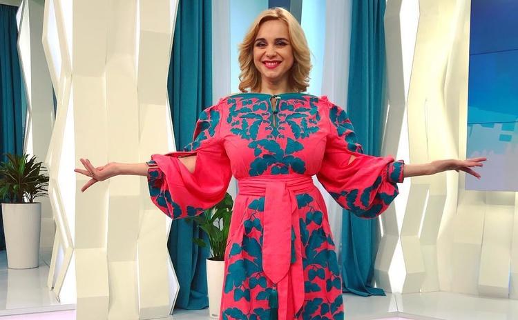 Украинская телеведущая Лилия Ребрик