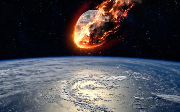 В атмосферу вошел двухметровый астероид