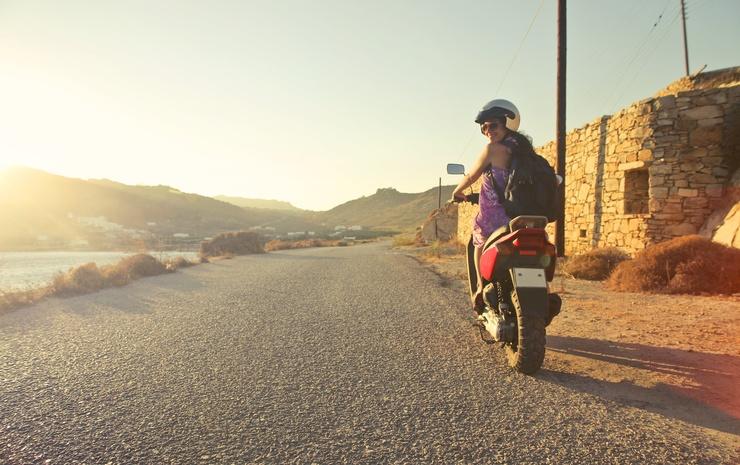 Система безопасности для мотоцикла