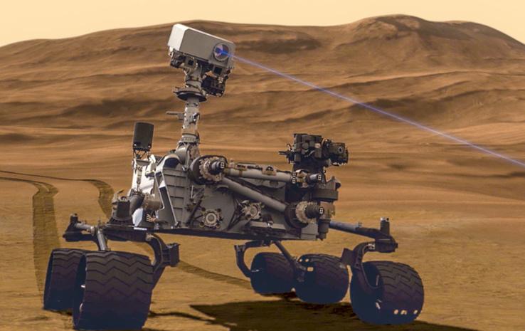 Уникальное селфи с Марса