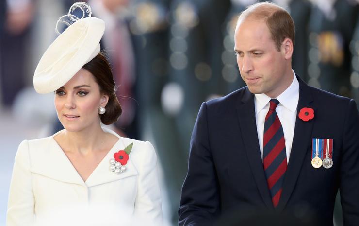 Герцогиня и герцог Кембриджские Кейт Миддлтон и принц Уильям