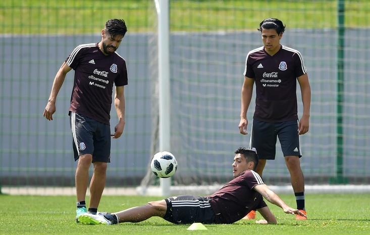 Сборная Мексики по футболу — тренировка