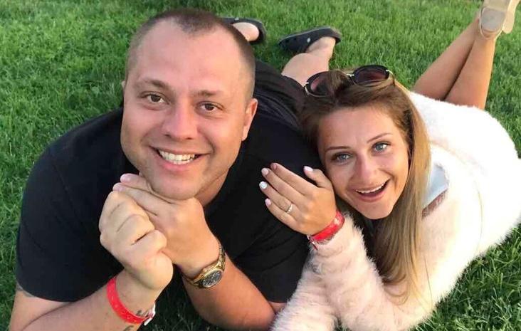 Андрей Дромов с женой Викой