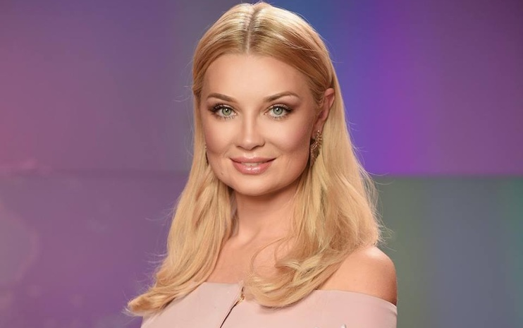 Телеведущая Лидия Таран