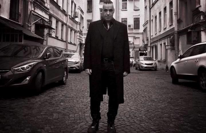 Вокалист Rammstein Тилль Линдеманн