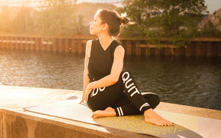 Легинсы, которые научат йоге