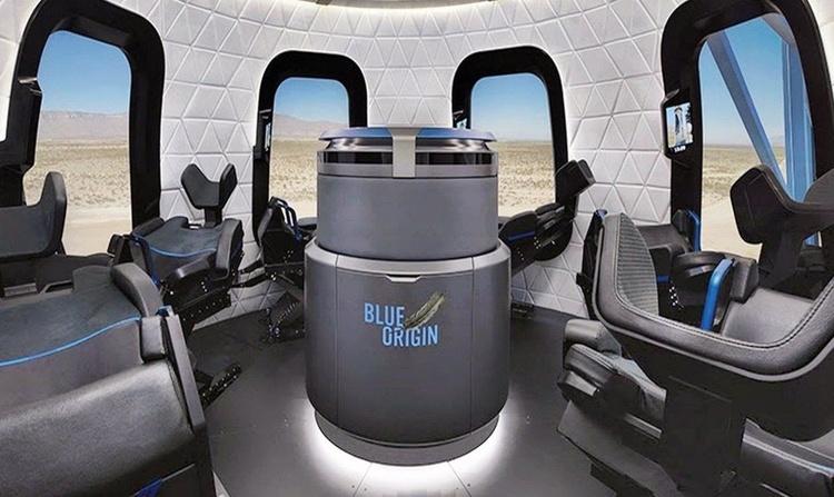 Цена полета корабле New Shepard