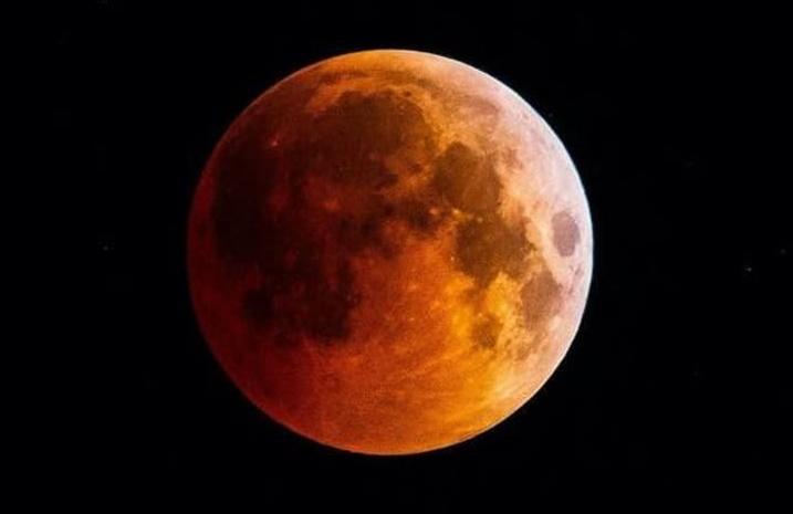 Лунное затмение 27 июля