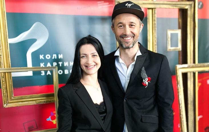Певец Сергей Бабкин с женой Снежаной