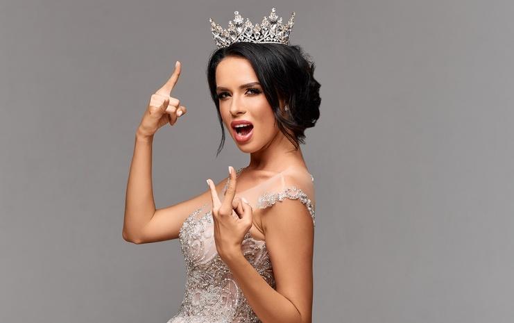 Победительница национального конкурса красоты «Королева Украины-2018» Яна Лауринайчуте