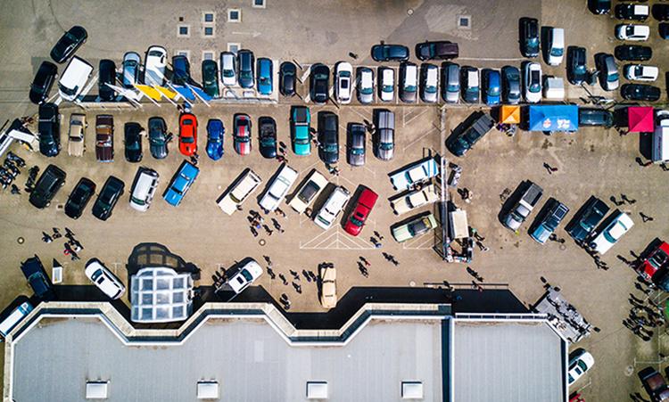 Не стоит парковать машину в неположенном месте