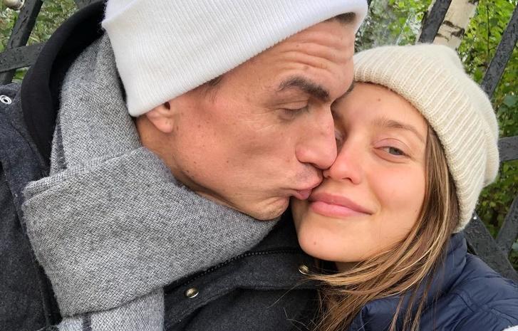 Новоиспеченные родители Регина Тодоренко и Влад Топалов